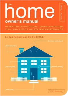 The Home Owner's Manual explores hundreds of frequently asked questions: How can I drain the sludge out of my water heater? Is there any easy way to unstop a toilet? How can I fill a crack in my wall? And when should I seek professional help? You'll also find advice on inspecting a new home, moving in, redecorating, emergency maintenance, and more. This book makes household maintenance a breeze with plenty of illustrations to guide you along. Softcover, 224 pages. Setup $40. Min 50. $15.40/ea.