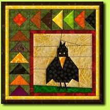 abraxas paper piecing  http://www.reginagrewe.de/downloads/rabe.pdf