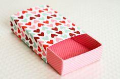 Confetti Sunshine: Free Printable : Valentines Matchbox