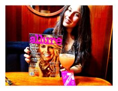 Feeling great w/ Pink EBOOST & @allure_magazine with @heidiklum cover ‪#AllureHeidi‬. She likes to BOOST too!