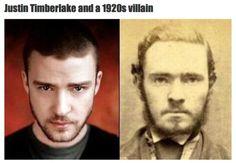 look alike, movie characters, vampires, time travel, justin timberlake, funni, no way, blog, celebr