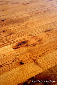 Top This Top That: Stop The Abuse....Of Your Hardwood Floors how to restore the luster to hard wood