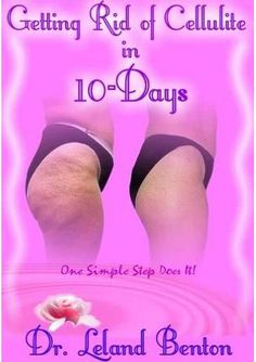 Getting Rid of Cellulite in 10-Days - Debunking the Myths About Cellulite! It takes only one easy step to see quick results and you will be totally amazed at the science behind the cause and cure of cellulite. Cellulite is an important female topic and just as important as stretch mark removal.