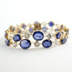 Diamond & Sapphire Bracelet