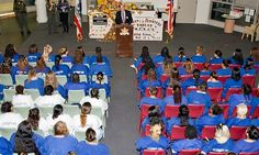 Education Based Incarceration Graduation Day at CRDF