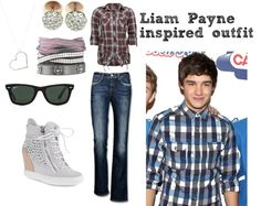 """Liam Payne Inspired Outfit"" by sortarican829 on Polyvore"