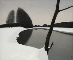 Alexander Grishkevich, December, 2007. Oil on canvas, 75 x 90 cm.