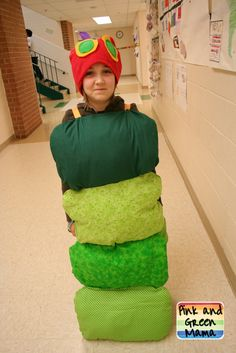 Very Hungry Caterpillar Costume and Class Project