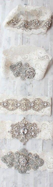 Vintage Garters | More here: http://mylusciouslife.com/photo-galleries/romance-sensuality-weddings/