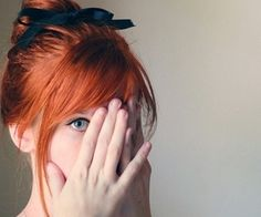 I have had a teensy desire to make this my hair color...
