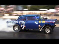 ▶ 2014 Meltdown Drags Ohio Outlaw AA/Gassers Hale Crook Byron Dragway Nostalgia Drag Racing - YouTube