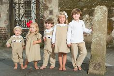 Fall clothing, smocked labs and matching outfits!