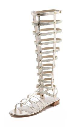 Stuart Weitzman Gladiator Knee High Sandals $398.00