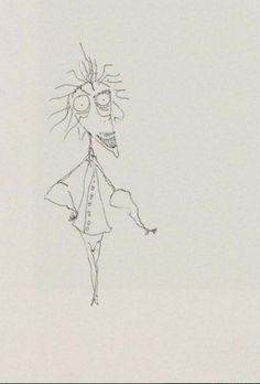 <3 :) Tim Burton's Sketches :)