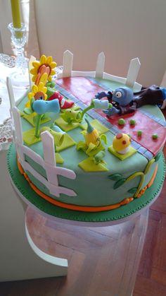 torta  ZOMBIES VS PLANTAS