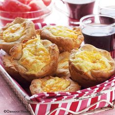 Gooseberry Patch Recipes: Jumbo Quiche Muffins from Home for Christmas 2011 Bookazine
