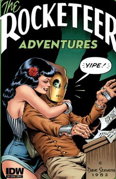 The Rocketeer Adventures | Dave Stevens