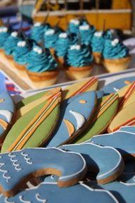 Surfing Thru The 1st Year Cake
