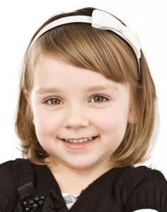 Cute bob haircut for little girls