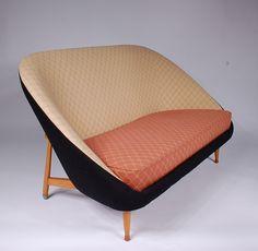 Theo Ruth; Birch Sofa for Artifort, 1950s.