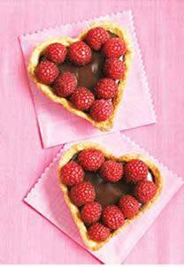 Gluten-Free, Dairy-Free Chocolate Raspberry Heart Tarts