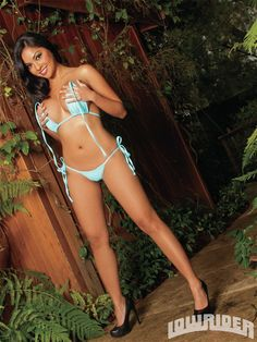 The #Sexy, #Beautiful, #lowrider Model Rose S topless, #handbra