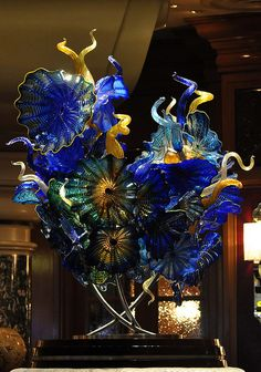 Dale Chihuly Glass, Bellagio, Las Vegas