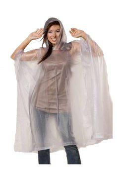 Always be prepared for rain