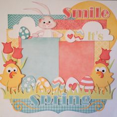 Nanne's Creations: Smile, It's Spring