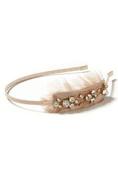 headband 35, sparkl headband, feather sparkl, cloth, bananas, headband 23, republ feather, feathers, banana republic