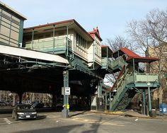Jackson Avenue Subway Station, Mott Haven, Bronx, New York City