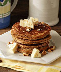 Banana Cinnamon Pancakes (coconut flour)