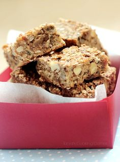 Energy Bars with Figs & Almonds
