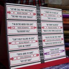 letterpress vintage love jukebox inspired by afavoritedesign, $5.00
