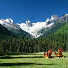 Bugaboo Lodge, Purcell Mountains, B.C.