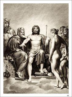 greek mytholog, anneloui girodet, pintura bonita