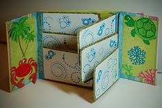 Gatefold Mini Scrapbook