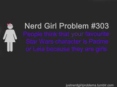 I love Nerd Girl Problem.