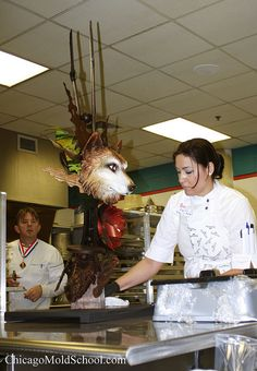 How incredible is this?  Another sculpture from the World Pastry Championship in 2010