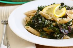 lemony kale pasta 2 by annieseats, via Flickr
