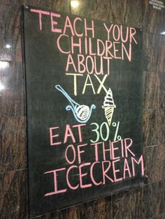 Teach your children about tax #funny #teach #children #humor #comedy #lol