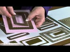 How To Use Spellbinders™ Nestabilities® Card Creator Die Templates