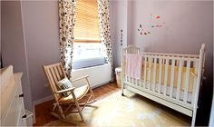 Minimalist idea of combining baby nursery and an office space - NYTimes.com