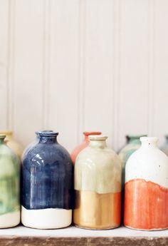 Honeycomb Studio: mini bud vases