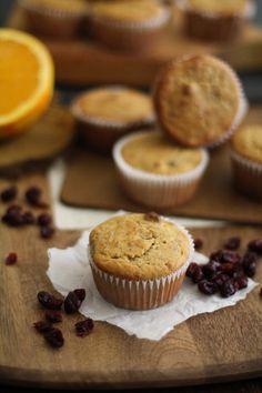 Gluten Free Cranberry Orange Muffins