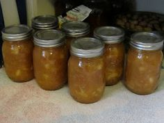 Applesauce- Home cooked, home canned!