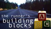 Runners building blocks