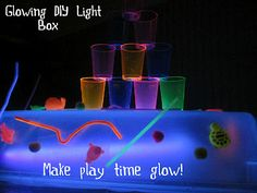 rose, activities for kids, science labs, baby play, contact paper, time activities, sensory play, play ideas, diy light