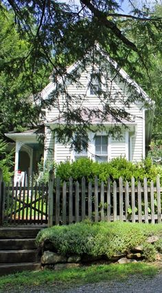 Old Farm House & Picket fence