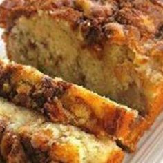 Apple Cinnamon Loaf (from JustAPinch,com)